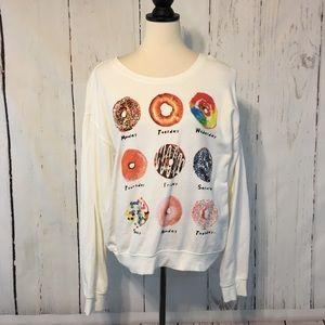 🌸5for$20🌸Forever 21 Donut Sweatshirt